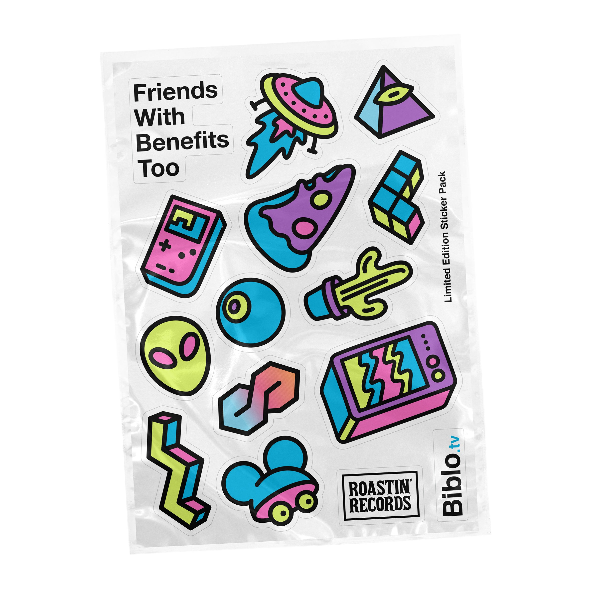 Friends With Benefits Too - Sticker Pack