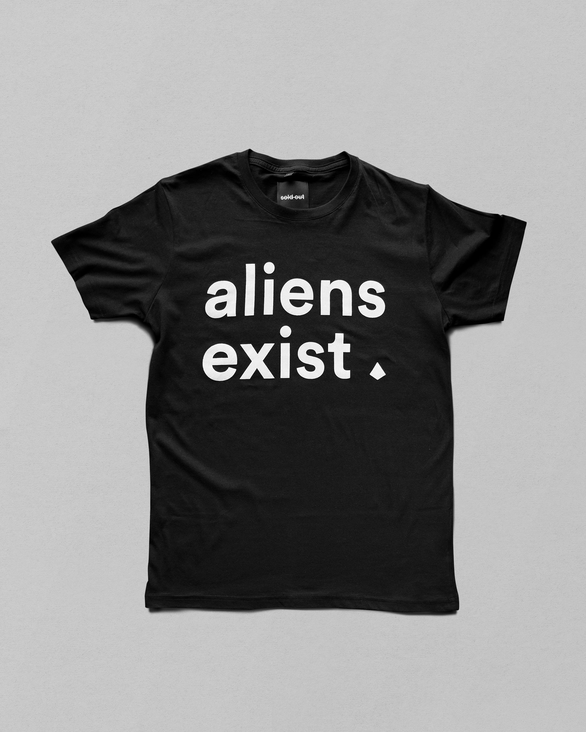 Black Interplanetary Tee