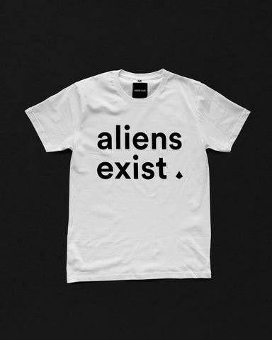 White Interplanetary Tee