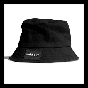 Black SOS Bucket Hat
