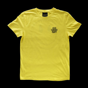 Acid Garden Logo Tee Yellow