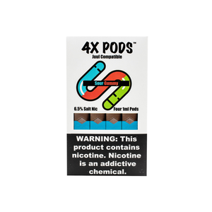 4x Pods - Juul - Merchandise by cory llc