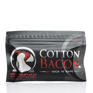 Wick n Vape Organic Cotton Bacon v2 - Merchandise by cory llc