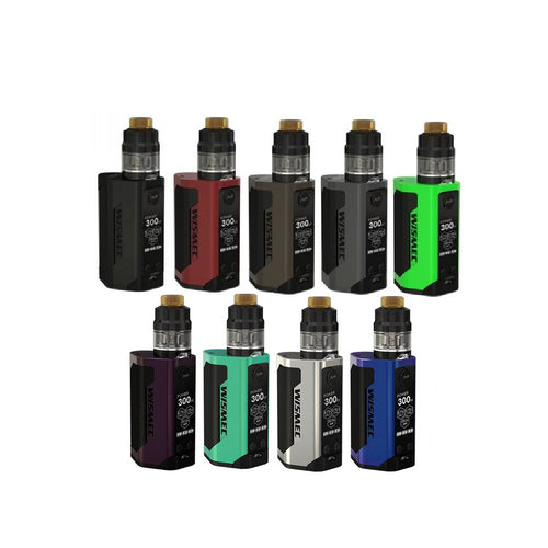 WISMEC Reuleaux RX2 21700 230W with Gnome TC Kit - Merchandise by cory llc