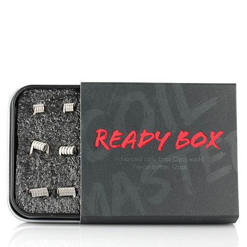 Coil Master Ready Box Coil Kit - Merchandise by cory llc