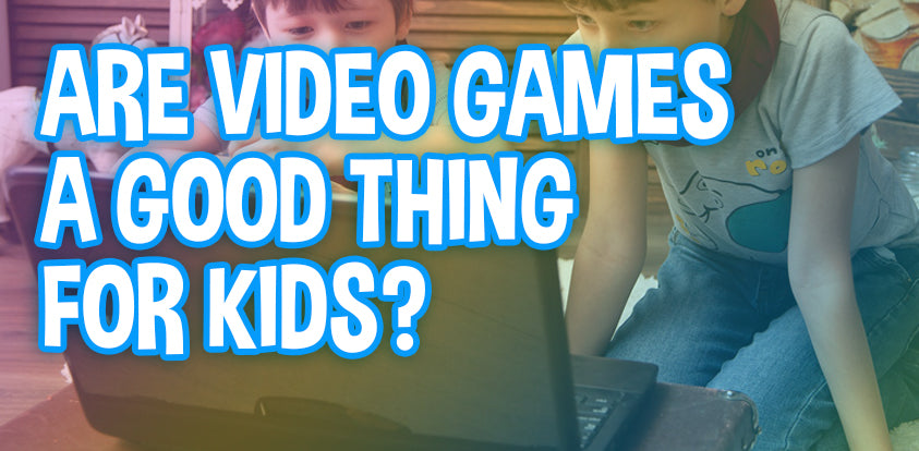 Are Video Games A Good Thing For Kids? Screen Time VS. Outside Time!
