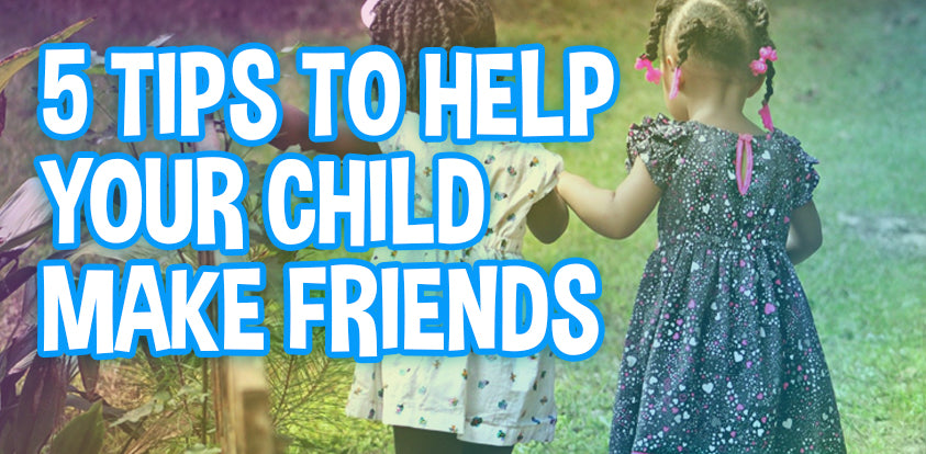 How to help your kid make playmates and friends