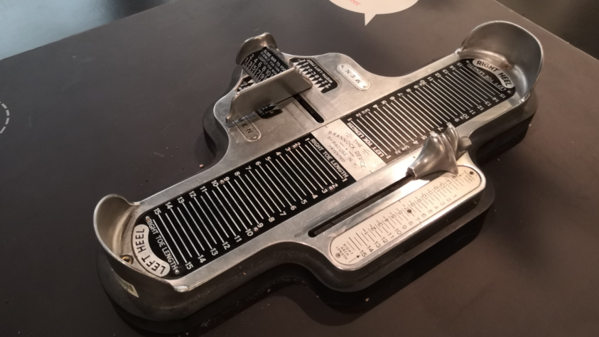 All About The Brannock Device vintage