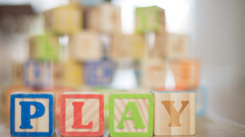 Getting Your Kids Quiet and Keeping Them Silent play blocks