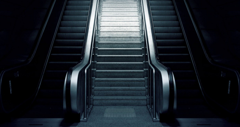 Kid Safety Horror Stories ominous escalator