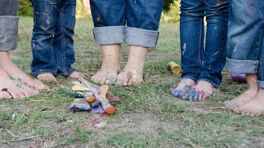 5 Crazy Foot Facts You Didn't Know family feet