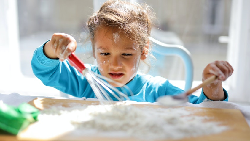 Dirty Kids Are Happy Kids! But Why Do Kids Love Dirt? cooking child