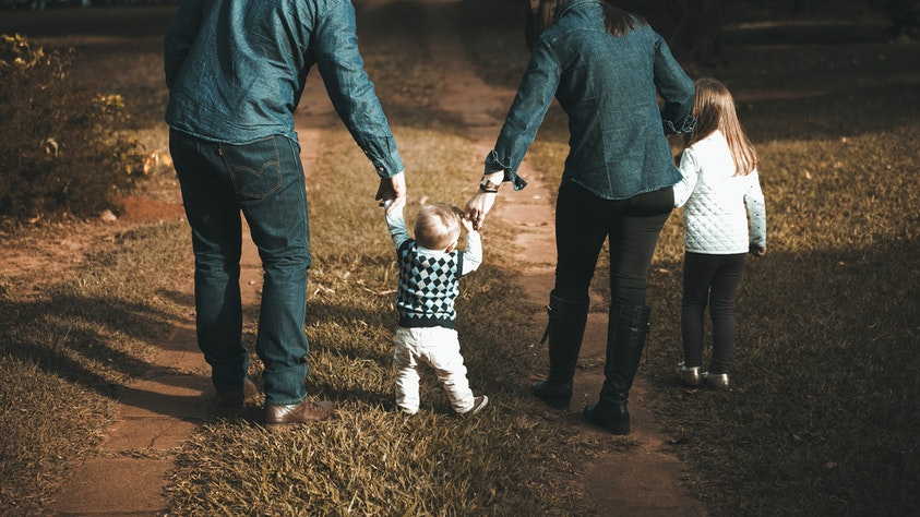 Birth Order and What It Means for Your Kids family walk