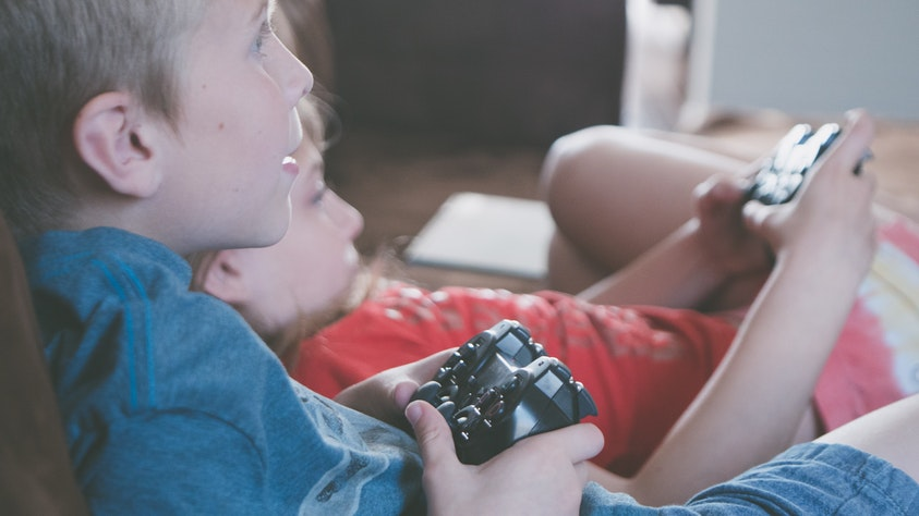 Are Video Games A Good Thing For Kids? Screen Time VS. Outside Time! controller children