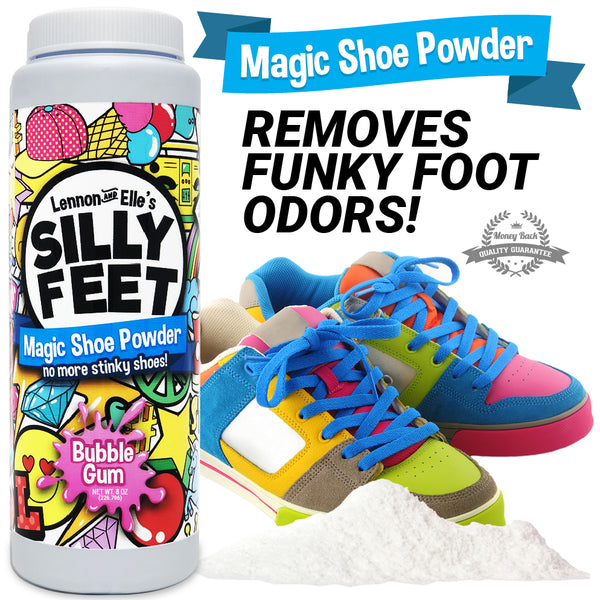 Shoe Powder Next to Shoes