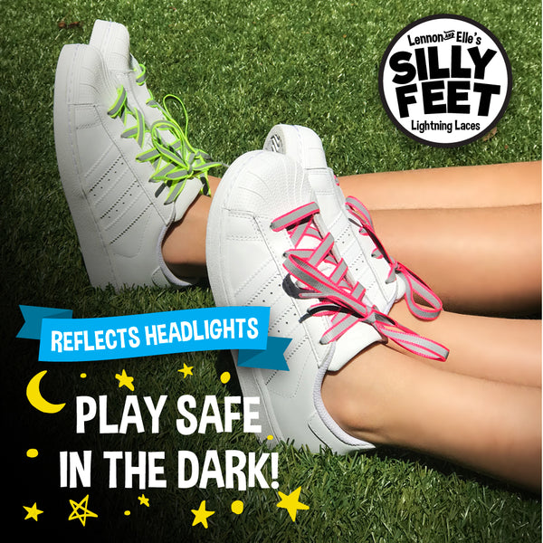 Reflective Kids Shoe Laces