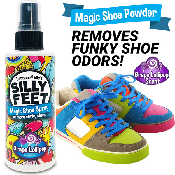 Shoe Deodorizer Grape Foot Spray