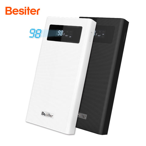 Besiter Power Bank 20000mah Mobile Phone Charger For Mobile Phones External Battery Packs Dual Input&output Interface for Xiaomi