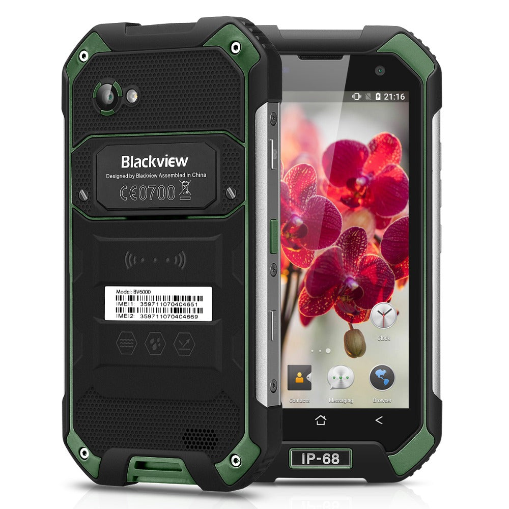 Blackview BV6000S MT6735 Quad Core Smartphone 4G 4200mAh Waterproof IP68 Shockproof Android 6.0