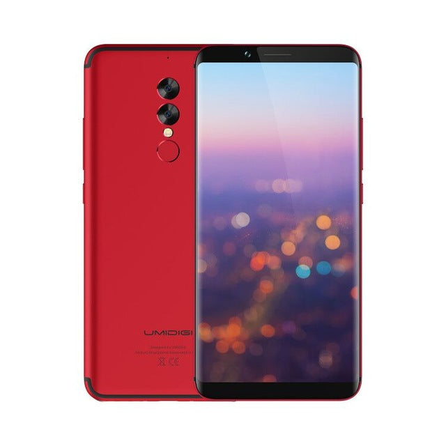 UMIDIGI S2 Lite Full Screen 18:9 Smartphone Android 7.0 Face ID 5100mAh cellphone 4GB RAM 16MP+5MP Dual Cameras 4G Mobile Phone