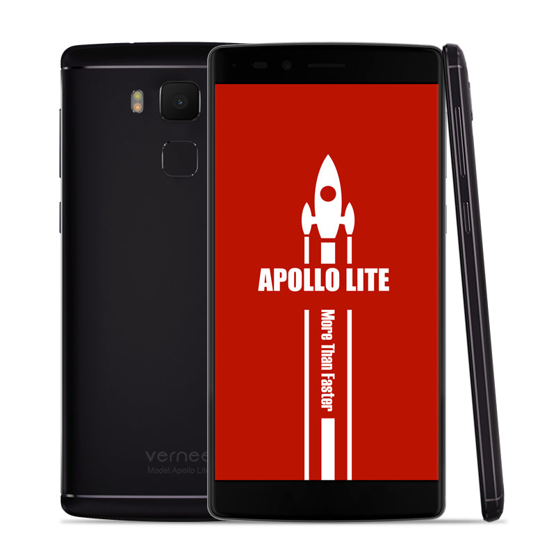 Vernee Apollo Lite 5.5inch 4GB RAM 32GB 4G MobilePhone MT6797 Deca Core 3180mAh Android6.0 OTG 16MP