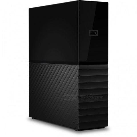 WD 6TB My Book Desktop External Hard Drive - USB 3.0 - WDBBGB0060HBK