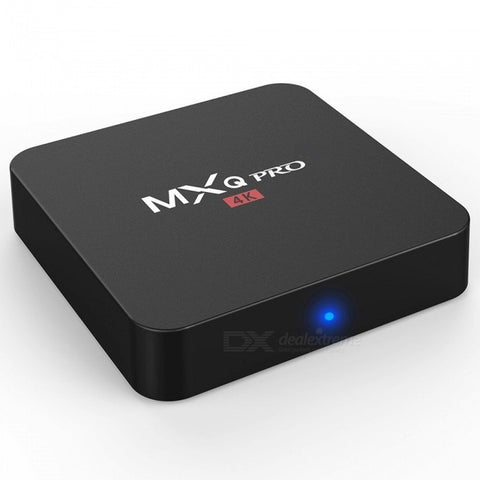 MXQ Pro P281 Android 7.1.2 TV Box Player with 1GB, 8GB ROM - EU Plug