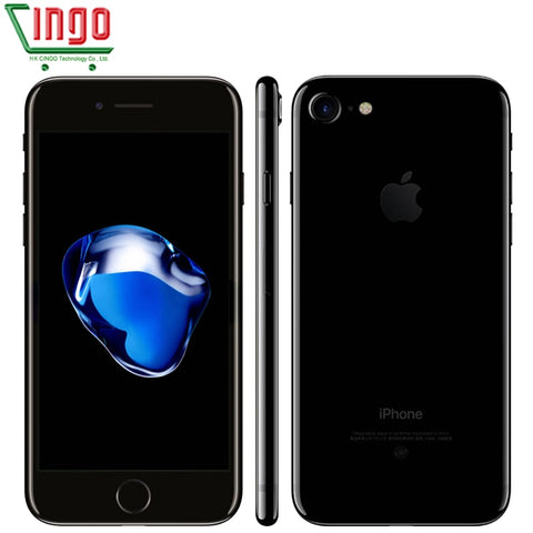 "Apple iPhone 7 2GB RAM 32/128/256GB ROM 4.7"" IOS Cell Phone 12.0MP Camera Quad Core 4K"
