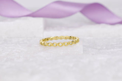 VerOna Lille Gold Ring