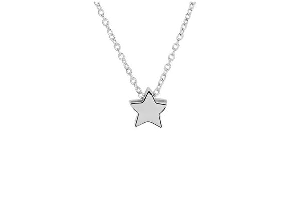 BeMy Silver Ster Ketting