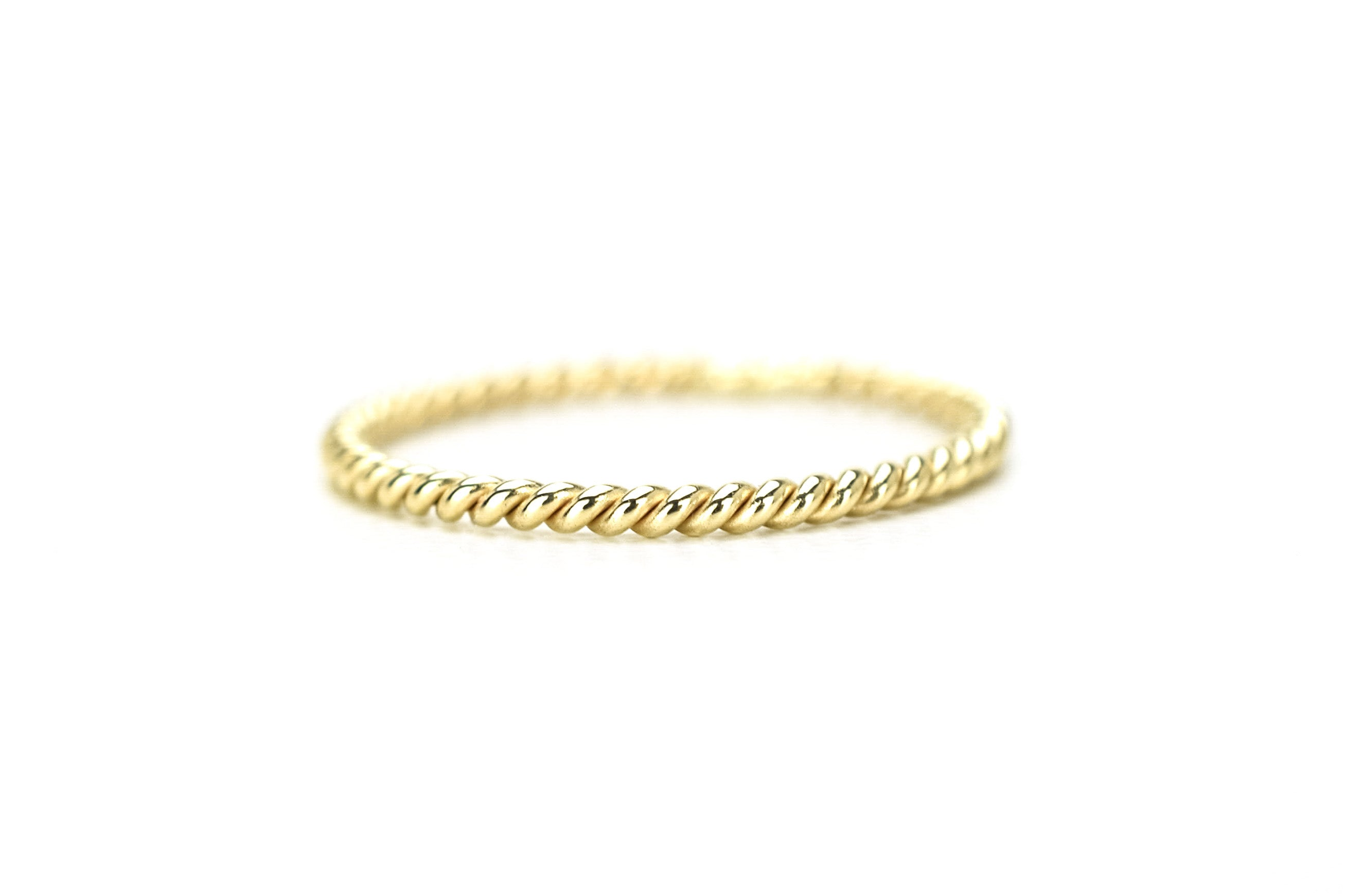BeMy Gold 14K Twisted Ring