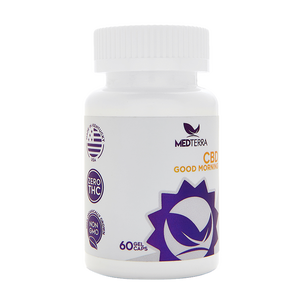 Medterra CBD good morning gel capsules