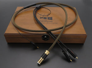 ZAVFINO 1877PHONO GRAPHENE GOLD RUSH AU/AG GOLD OCC/PURE SILVER TONEARM CABLE REVIEW