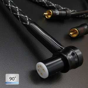 The Spirit MKII - OFHC Silver Tonearm Cable