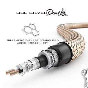 Silver Dart Graphene Audio Interconnect (RCA)
