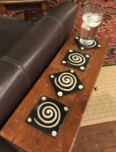 Lenca Pottery Coaster - Set of 4