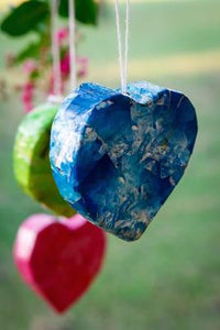 Paper Heart Ornament