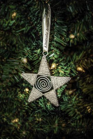 Shimmer Star Ornament