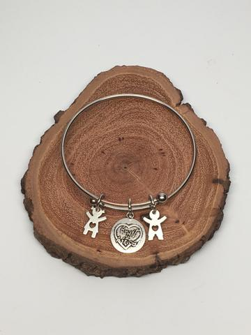 Heart for Africa Bangle Bracelet
