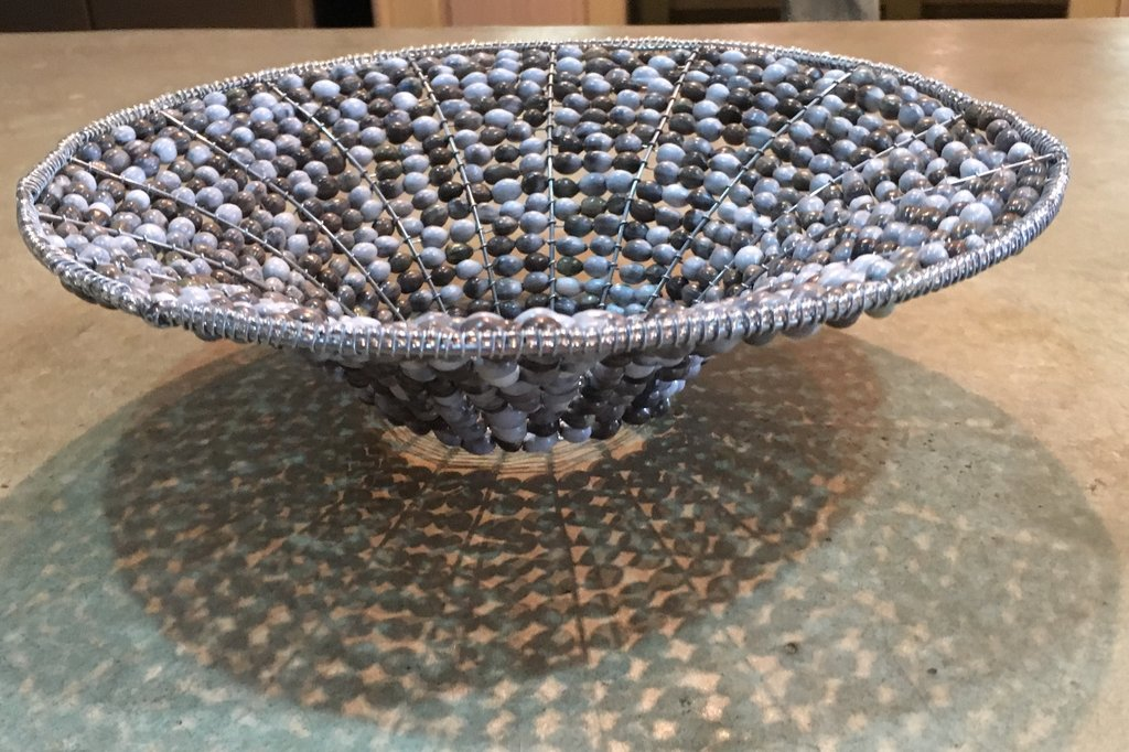 Lucky Seed Glass Bowl