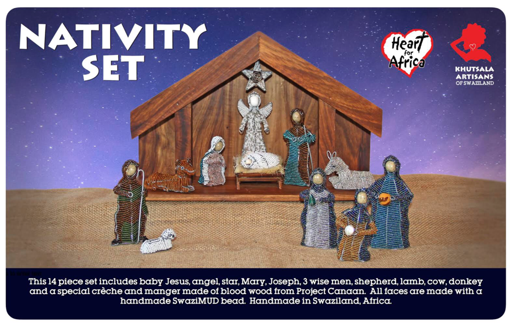 Beaded Nativity Set