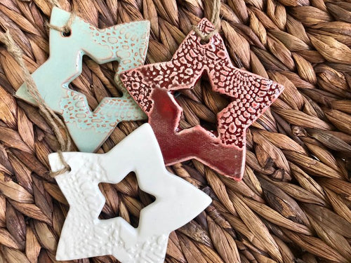 Cut-Out Star Ornament