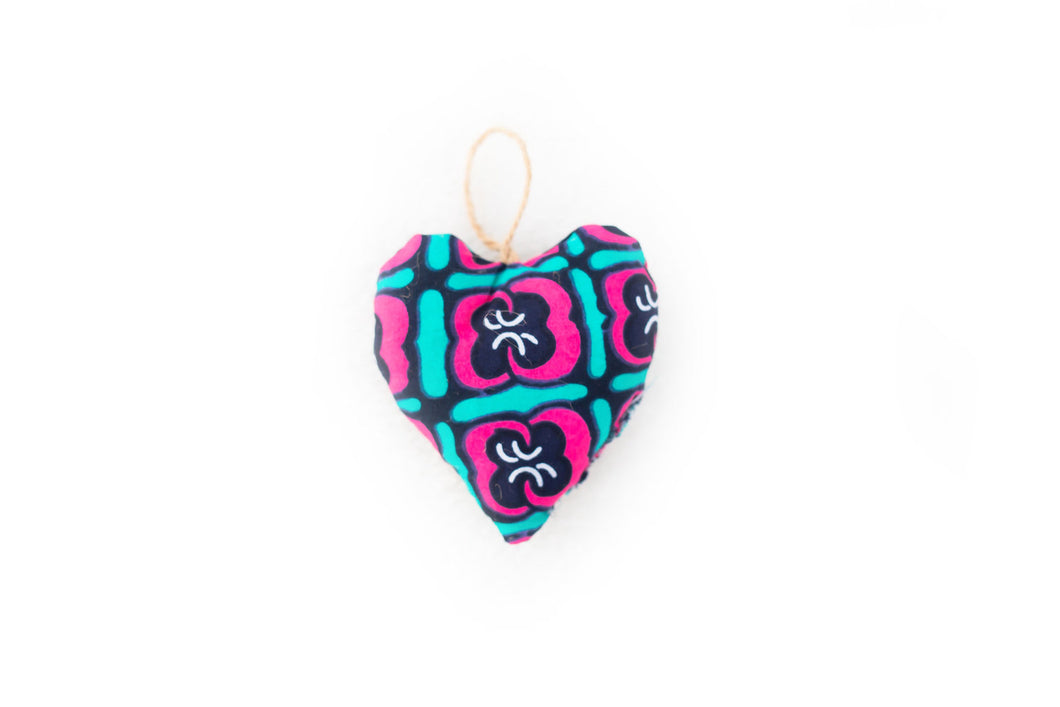 Fabric Heart Ornament