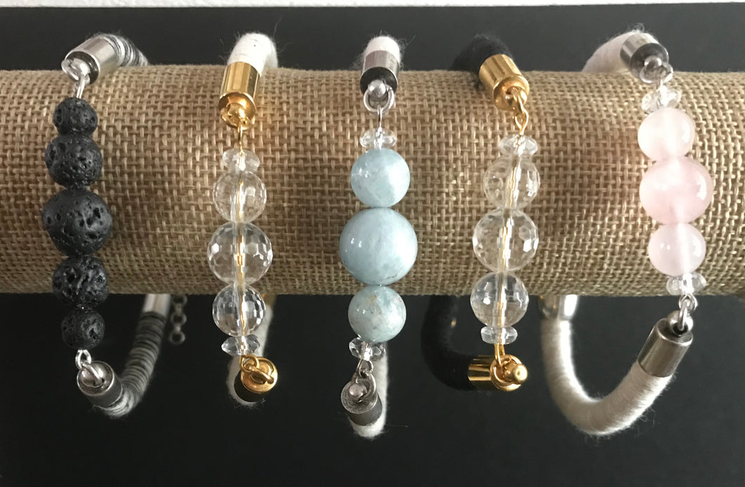 Rope and Bead Bracelet
