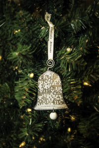Snowy Bell Ornament