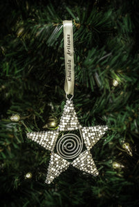 Snowy Star Ornament