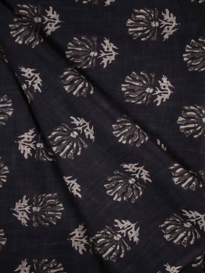 Cotton Slub Printed Fabric