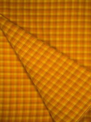 Pre Wash Cotton Checkered Fabric