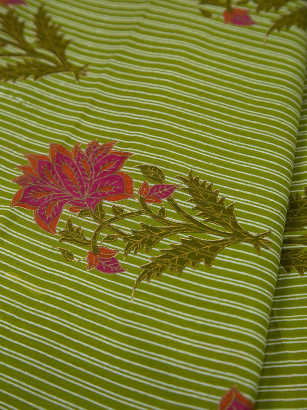 Pure Cotton Mughal Printed Fabric