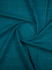 Turkish Blue South Cotton Woven Fabric